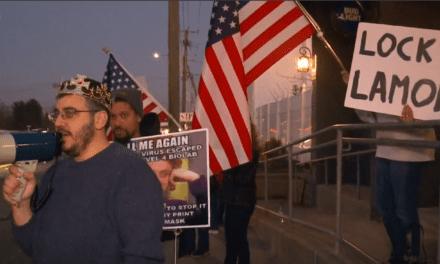 Protest Coverage on Fox 61 Last Night