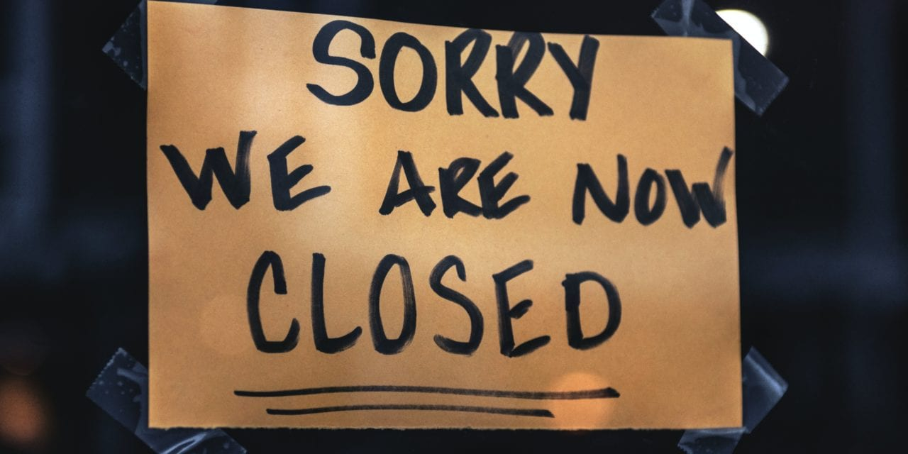 Nearly 100,000 establishments that temporarily shut down due to the pandemic are now out of business