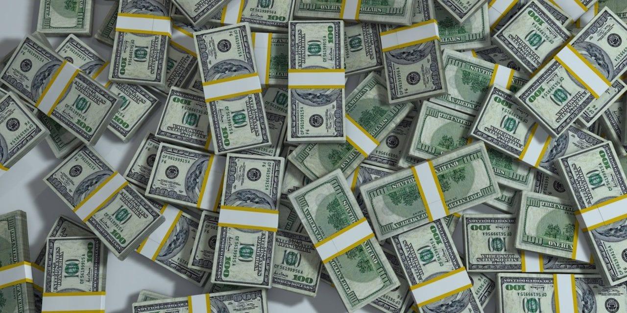 Where did Connecticut spend $1.185 billion?